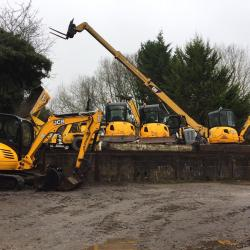 Some used JCB Mini Digger Stock