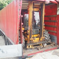 JCB forklifts exported